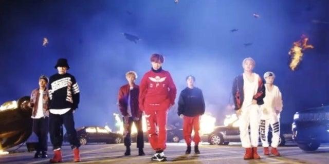 Bts Mic Drop Music Video Hits Big Youtube Milestone