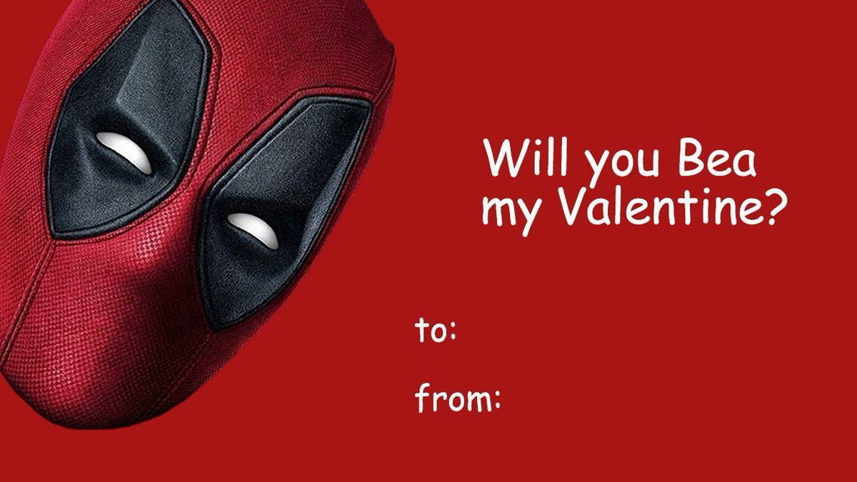 Day Valentines Deadpool