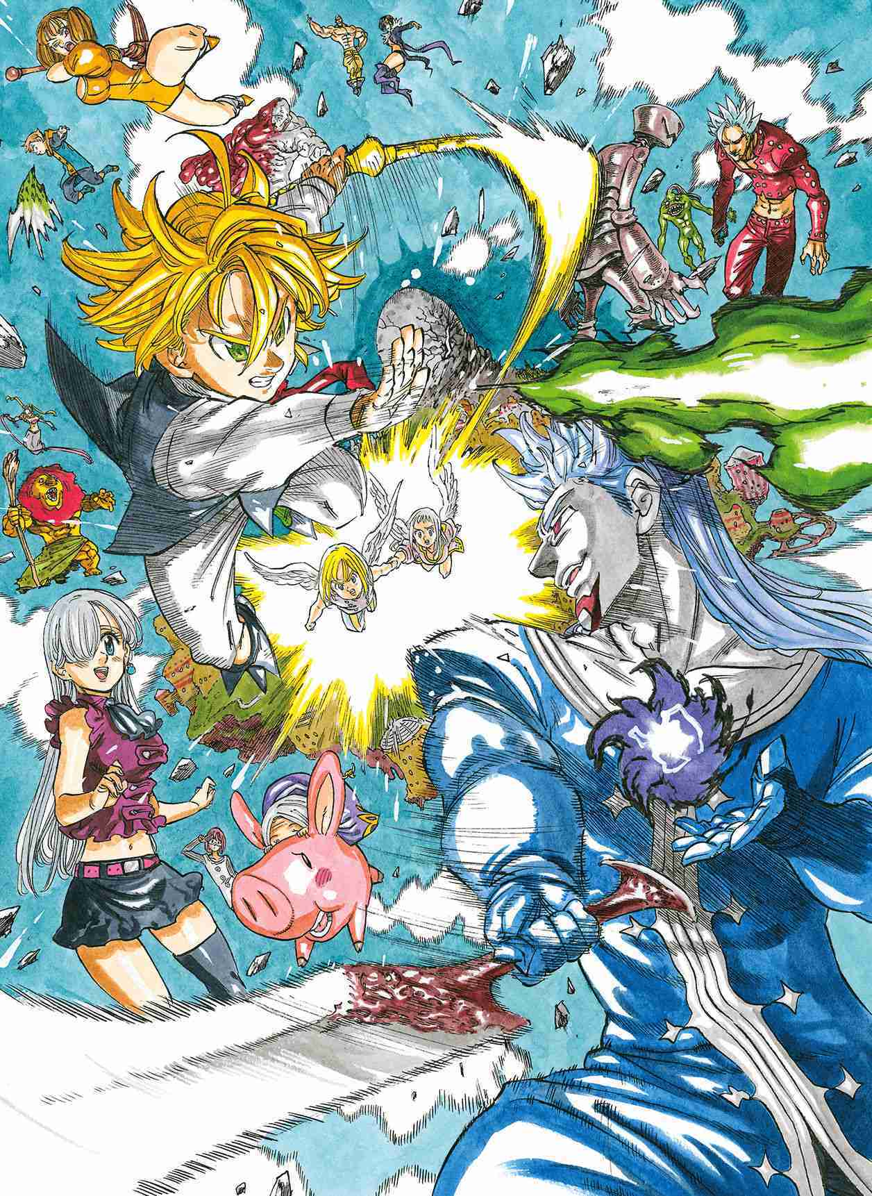 'The Seven Deadly Sins' Movie Reveals First Poster