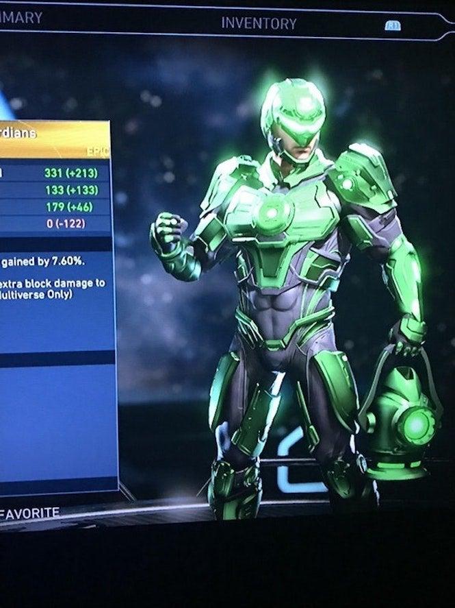 Colors Green All Lantern