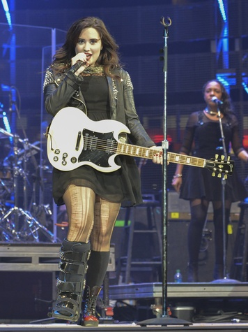 Demi Lovato Bares Her Soul At Rodeo Proves To Be Worthy