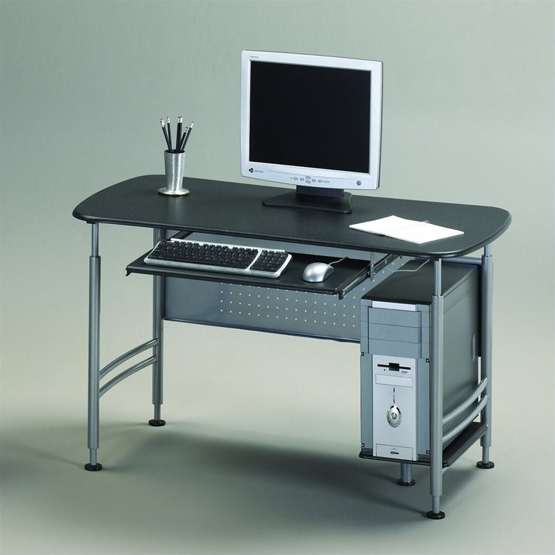 Mayline Eastwinds Santos Small Metal Computer Desk 925