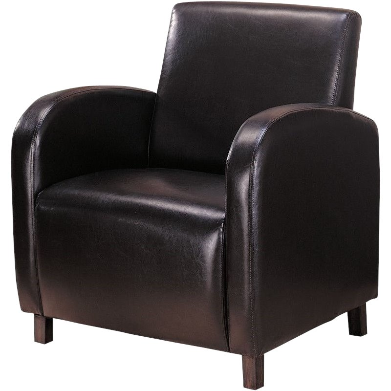 Leather Accent Chairs Arms