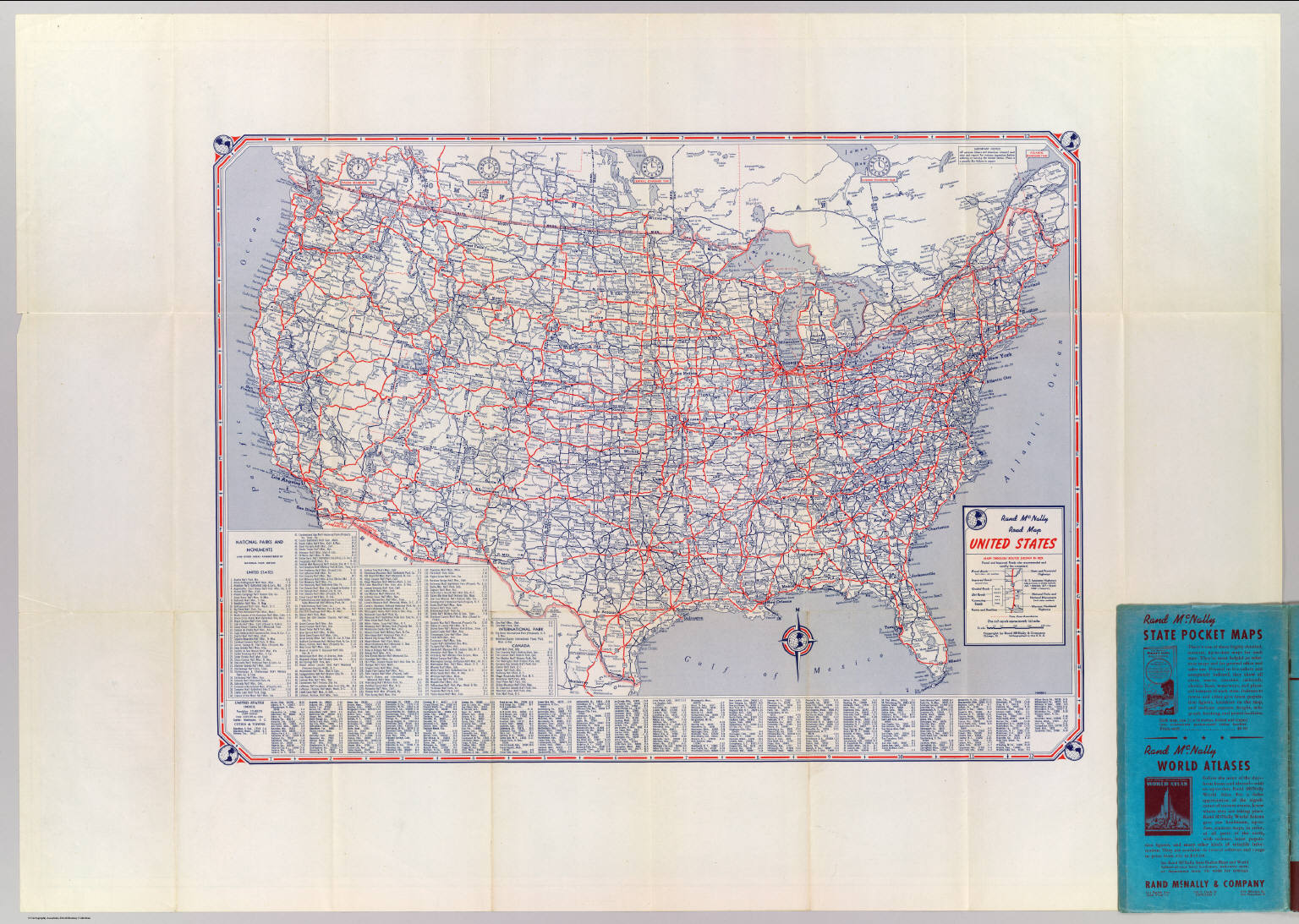 Road map United States    David Rumsey Historical Map Collection Road map United States