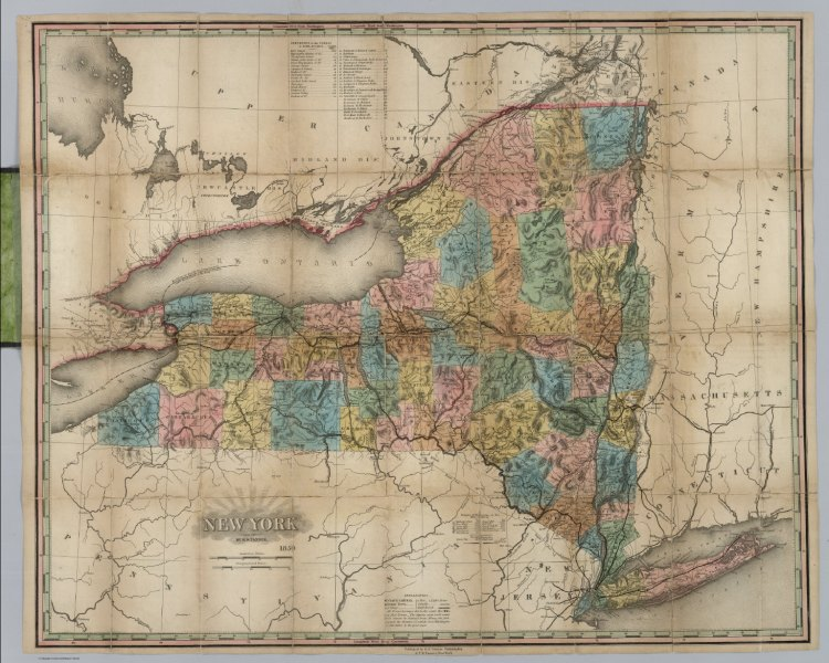 New York   David Rumsey Historical Map Collection New York