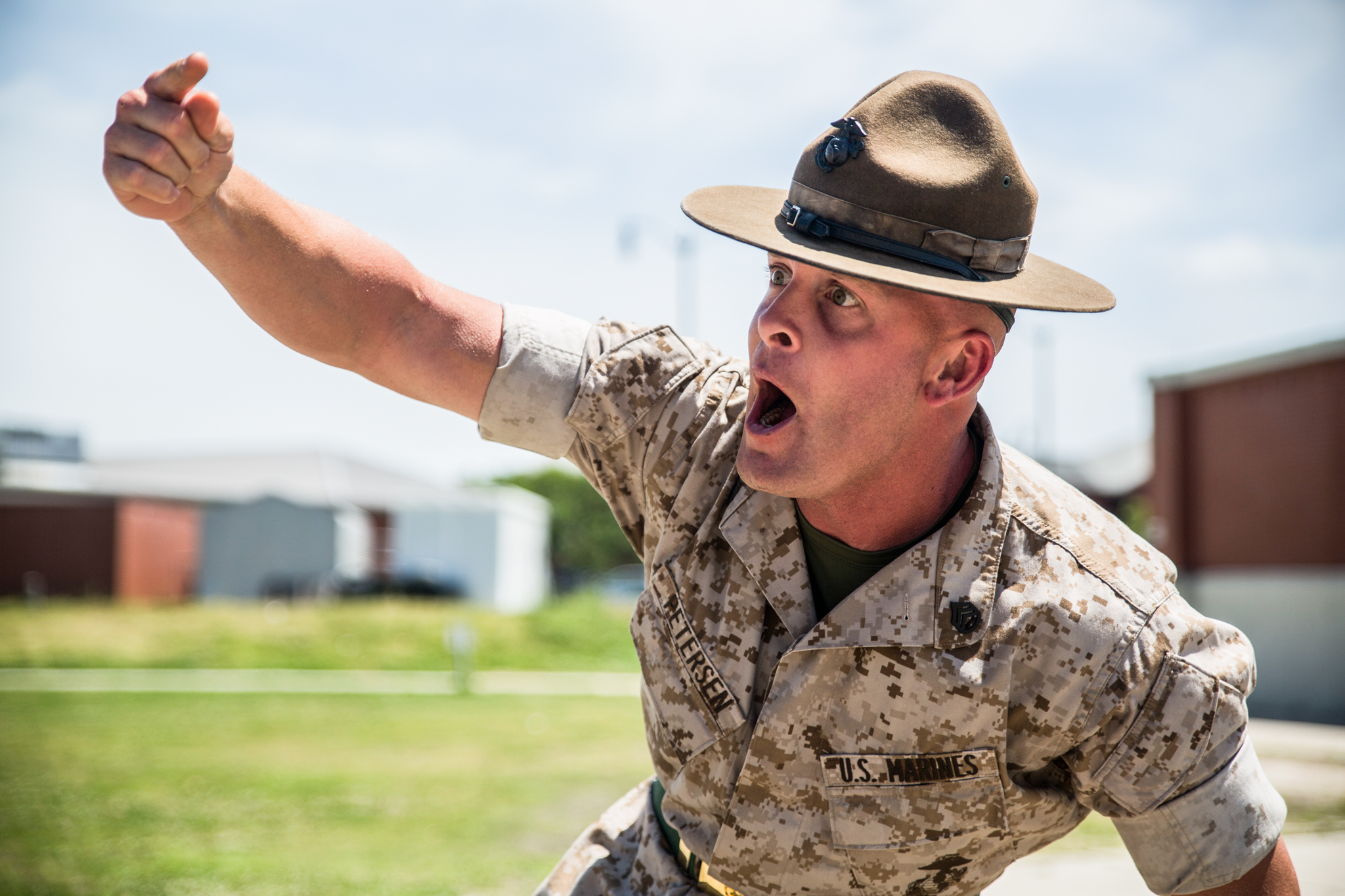 Marine Corps Drill Instructor Cover