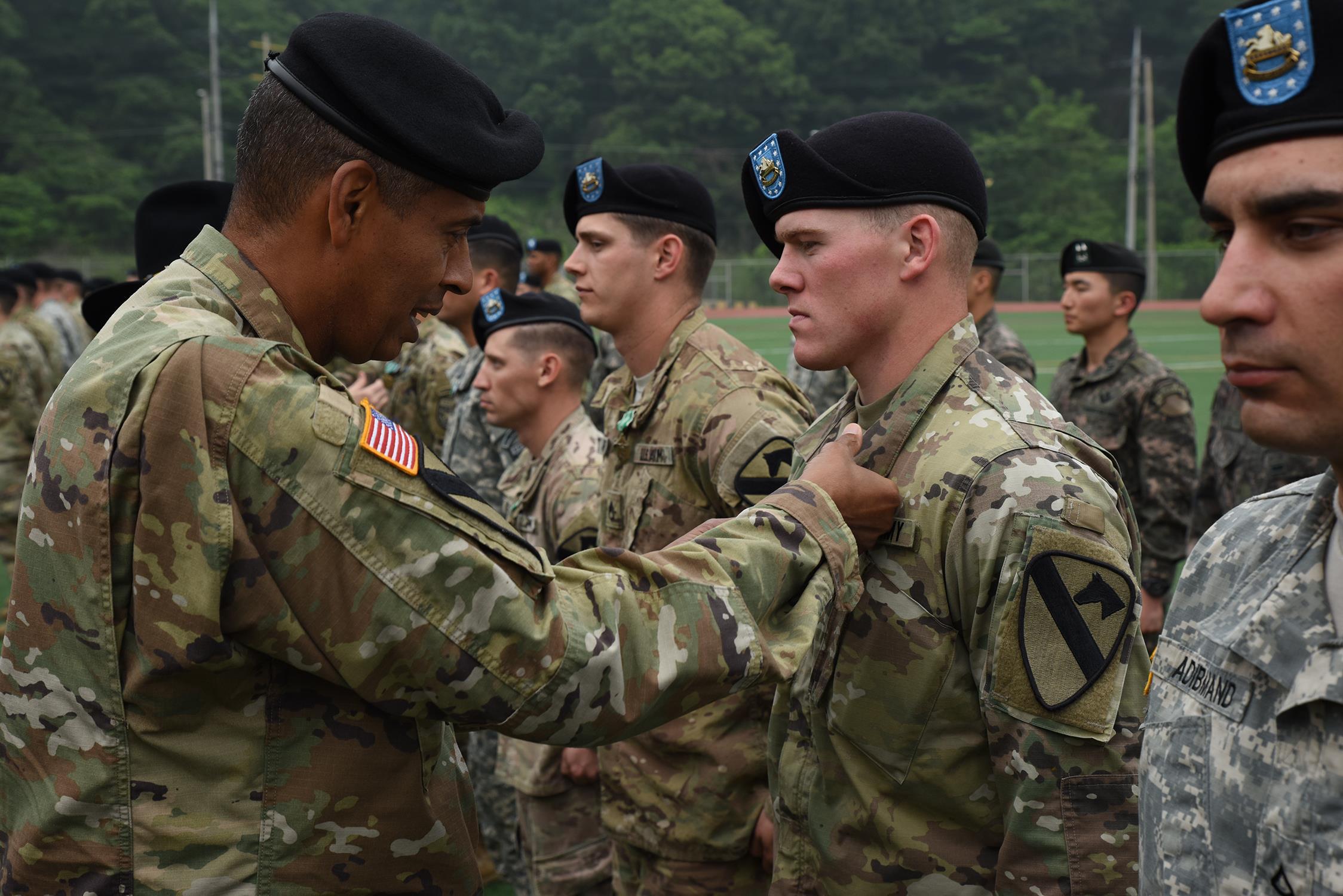 Infantryman Combat Army Us Korea Badge