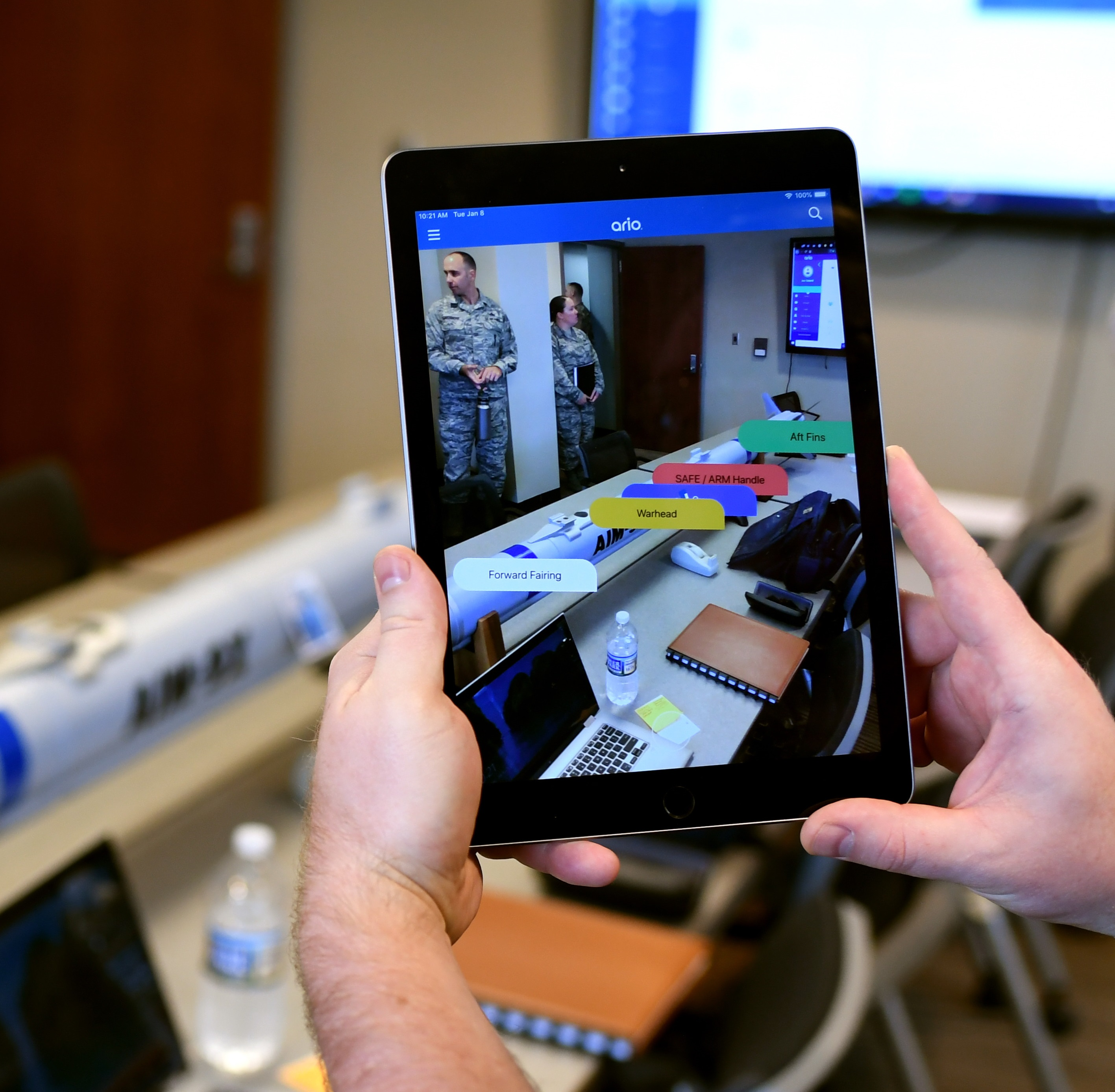 Augmented Reality Print Demonstration