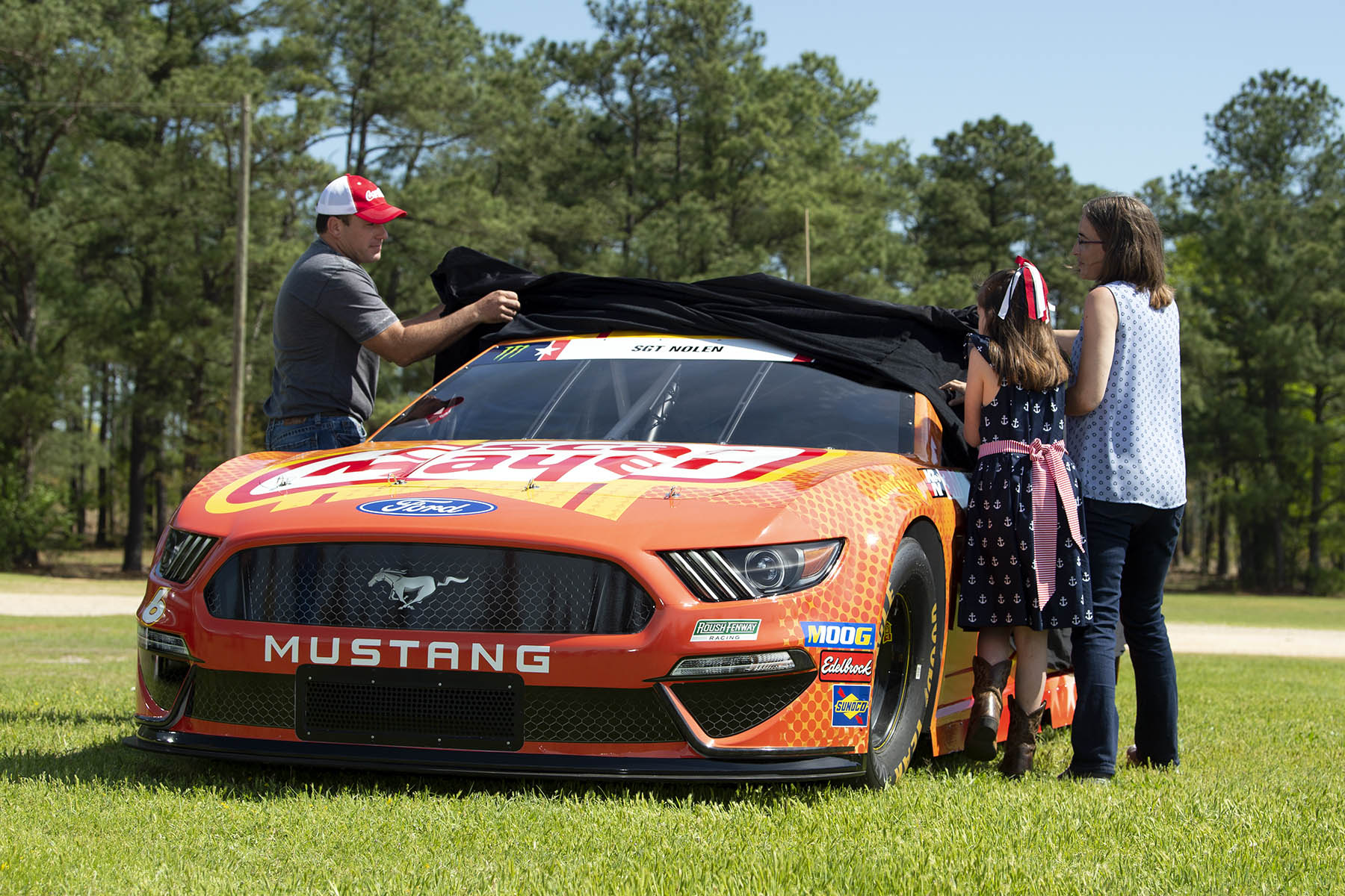 Race Car To Rocket Launcher Ryan Newman Tries Soldiering