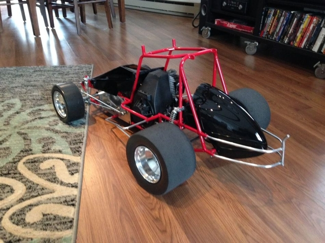 1 5 Scale Rc Sprint Car