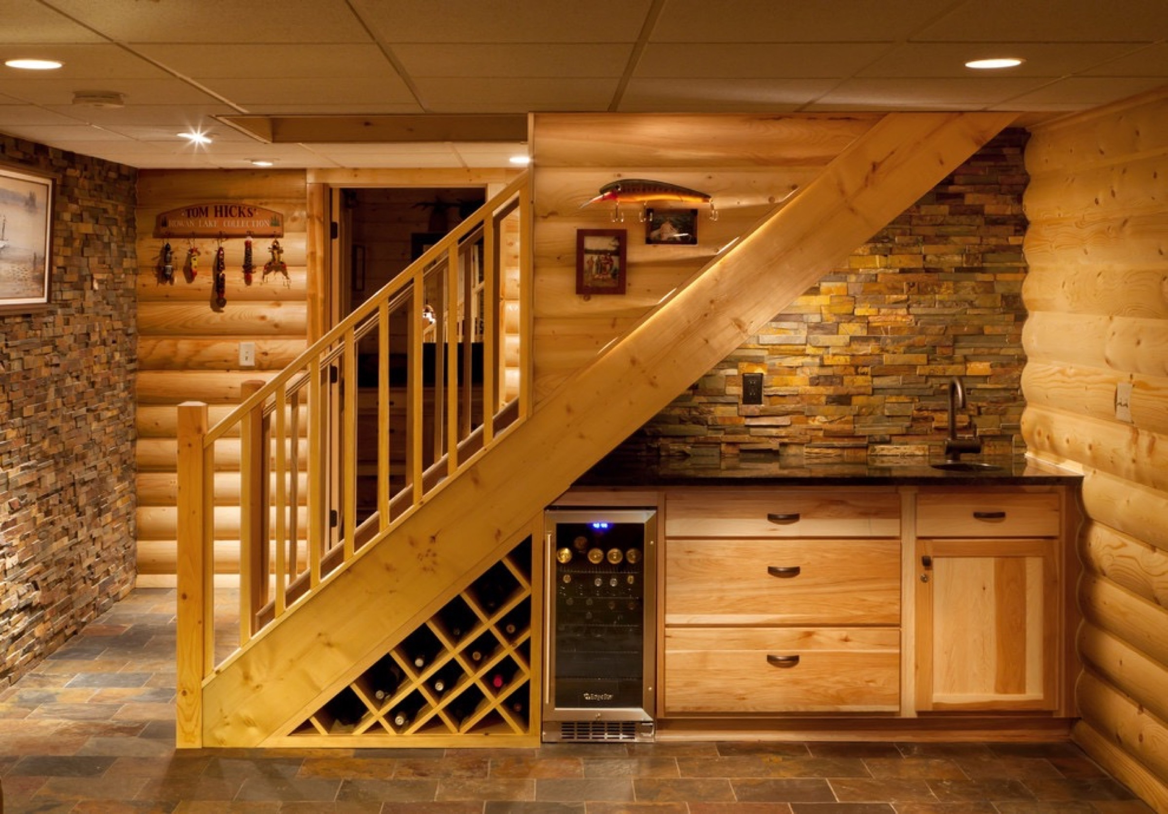 Basement Staircase Installation Costs Updated Prices In 2020 | Staircase Replacement Near Me | Deck | Handrail | Carpeted Stairs | Riser | Stair Runner
