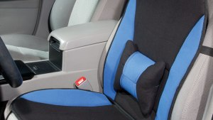 Memory Foam Seat Cushion With Lumbar Support Easy Comforts