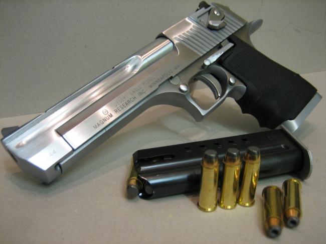 Desert Eagle 50 Cal Shooting