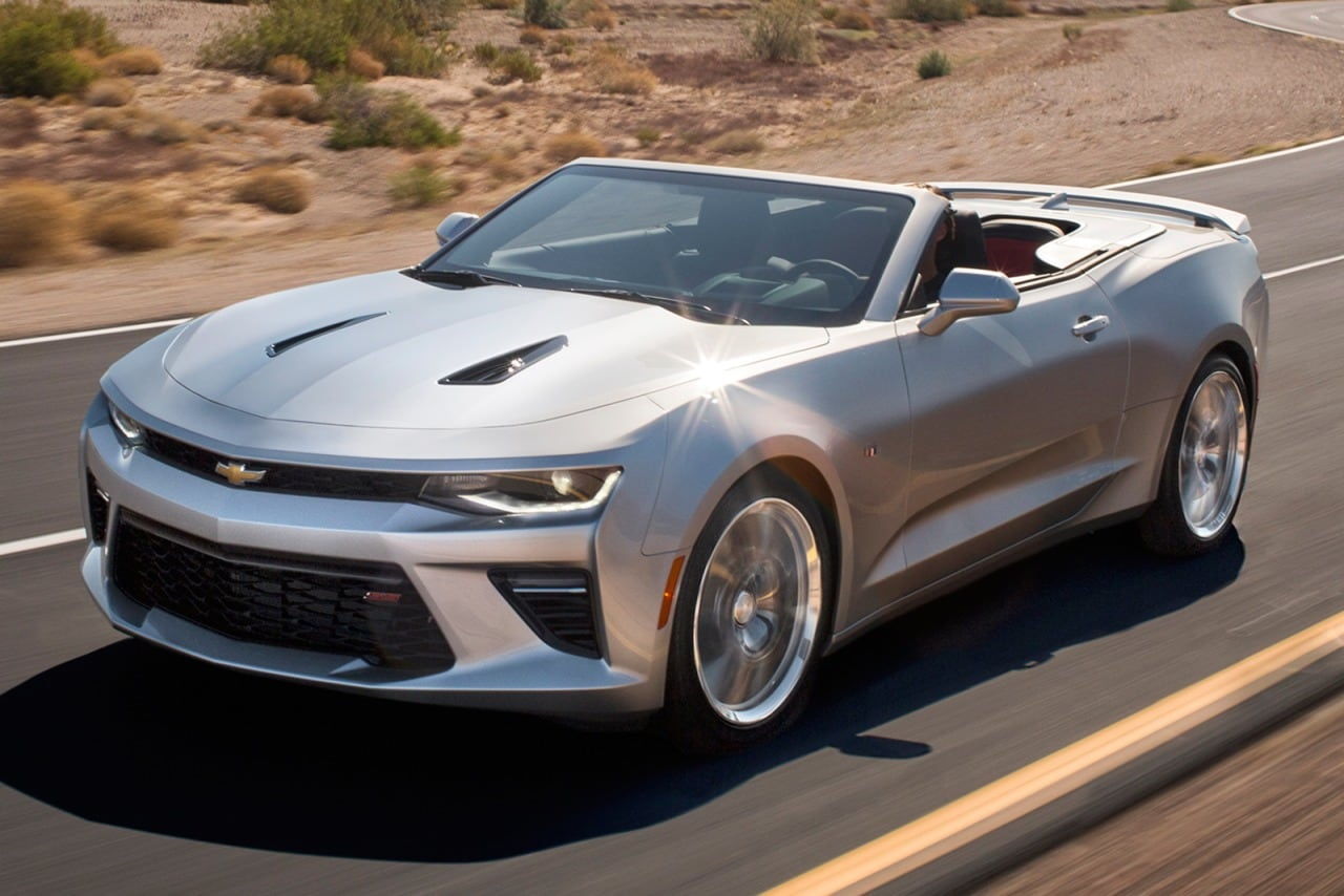 2017 Chevrolet Camaro Convertible Pricing - For Sale | Edmunds