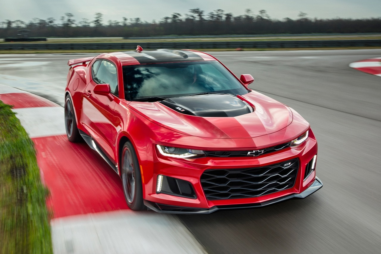 2017 Chevrolet Camaro Coupe Pricing - For Sale | Edmunds