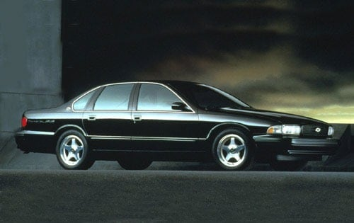 Used 1996 Chevrolet Impala Pricing For Sale Edmunds