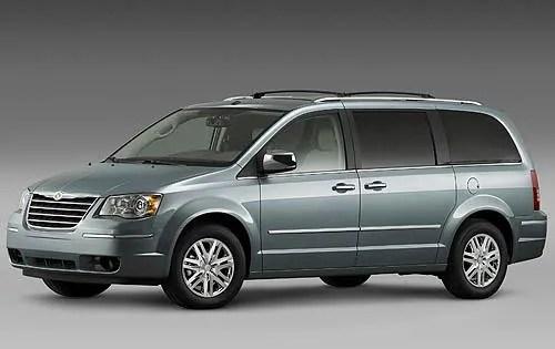 2003 Chrysler Town Country Minivan Interior
