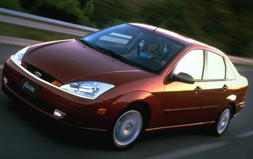 Used 2001 Ford Focus Sedan Pricing For Sale Edmunds