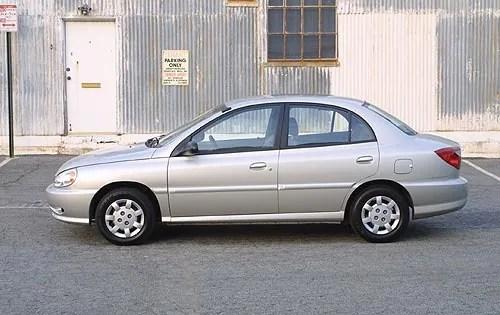 Used 2001 Kia Rio Pricing For Sale Edmunds