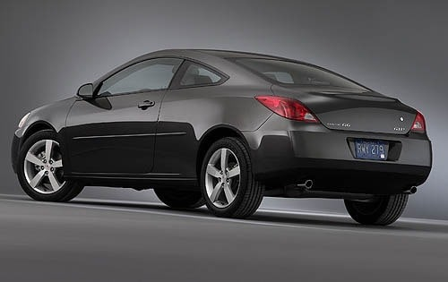 Used 2006 Pontiac G6 Coupe Pricing For Sale Edmunds
