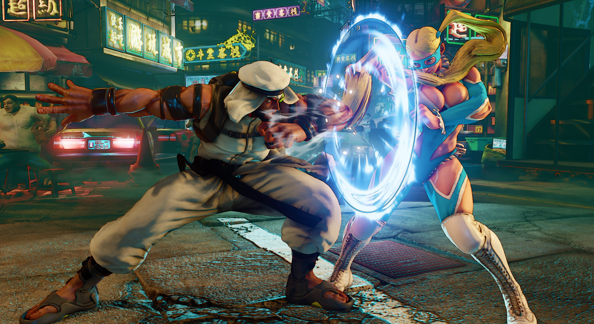 Rashid's official screen shots Street Fighter 5 Image Gallery