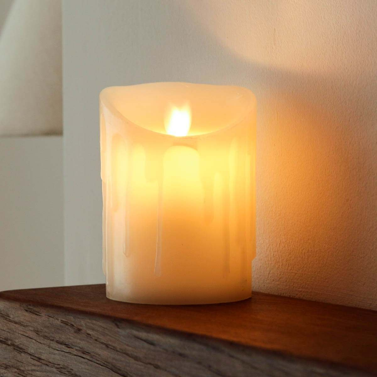 Battery Operated Candle Flickering Timer