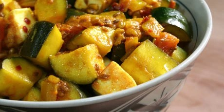 Zucchini Paneer Recipes   Food Network Canada Zucchini Paneer