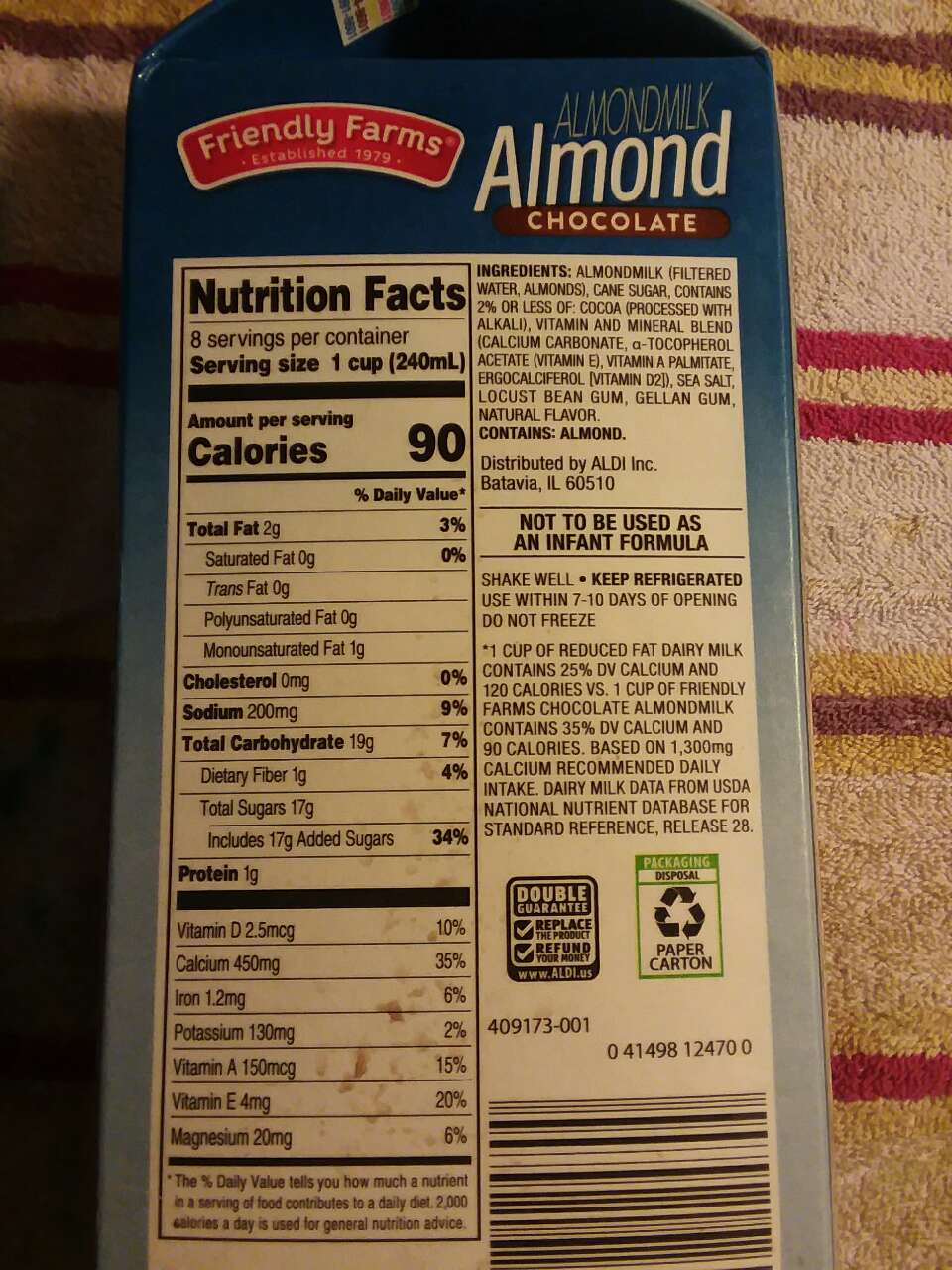 Fresh Thyme Market Nutrition Facts