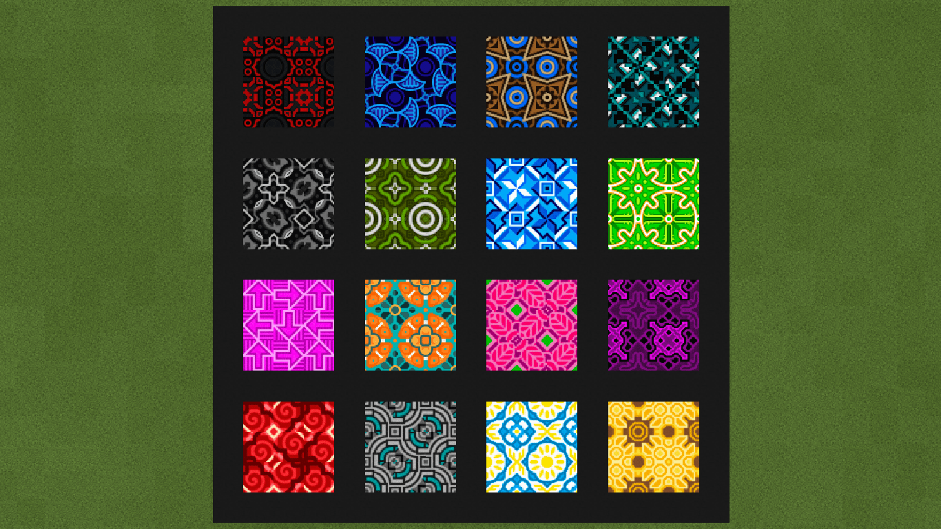 Glazed Terracotta Minecraft