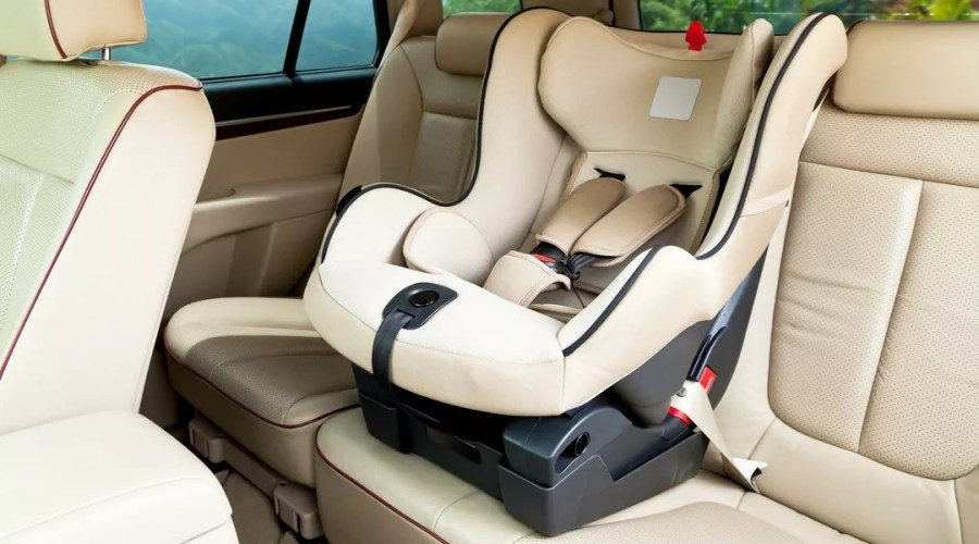 Car Seat Expiration  How Long Are Car Seats Good For  Car seat in car
