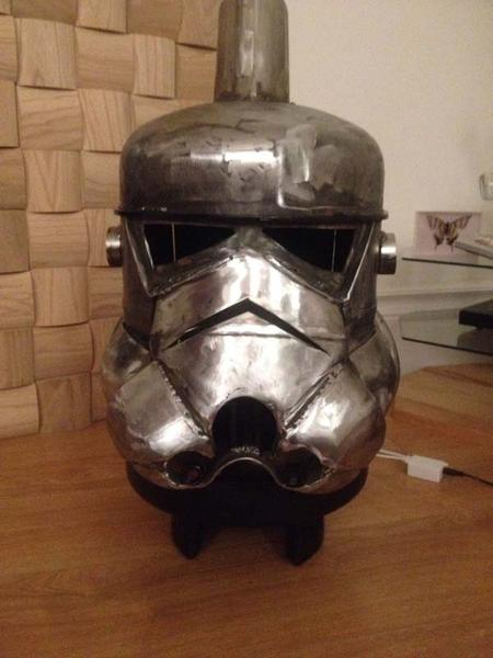 Star Wars Stormtrooper Inspired Log Burner Gadgetsin