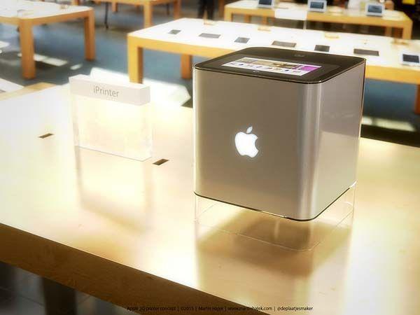 If Apple Made Their Own 3d Printer Gadgetsin
