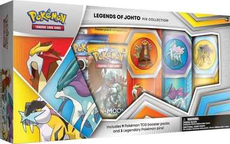 pokemon trading card game legends of johto pin box only at gamestop gamestop