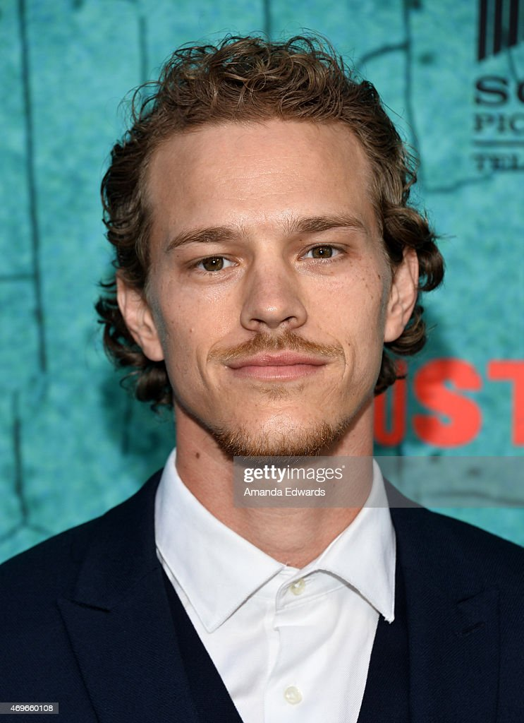 """Actor Ryan Dorsey arrives at FX's """"Justified"""" series ..."""