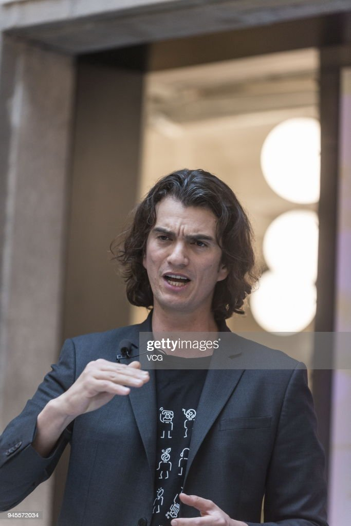 Adam Neumann, co-founder and chief executive officer of ...