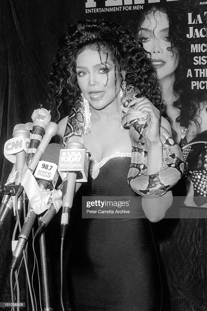Latoya Jackson Press Conference Stock Photos and Pictures ...