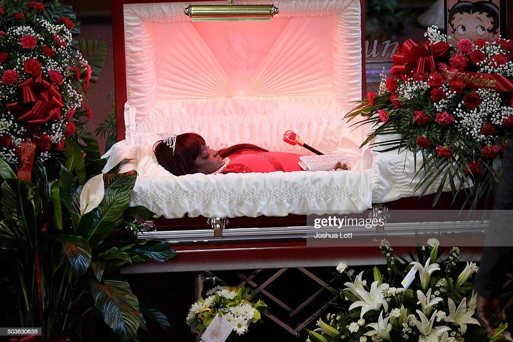 Left Eye Funeral Open Casket