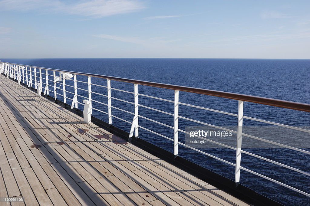 Deck Railing Leaning Out