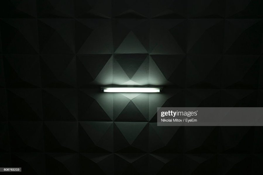 Darkroom Stock Photos and Pictures   Getty Images Directly Below Shot Of Illuminated Fluorescent Light On Ceiling In Darkroom