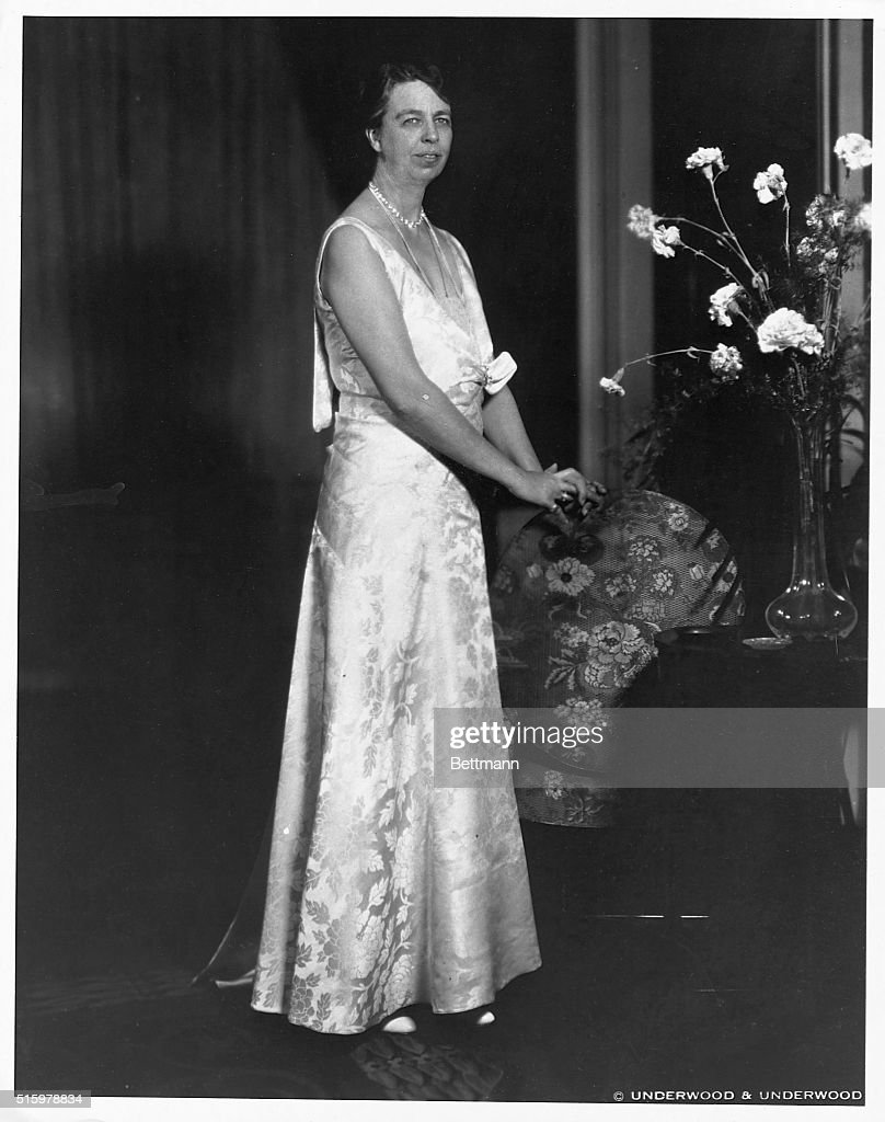 Eleanor Roosevelt Wedding Portrait