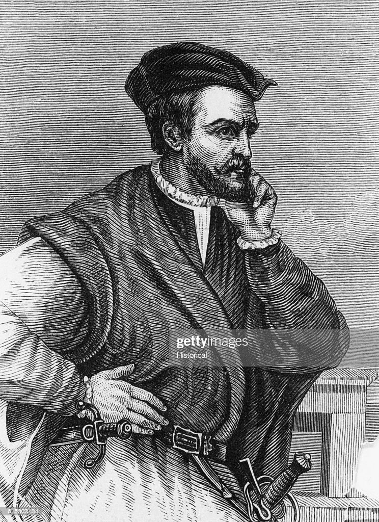 Explorer Jacques Cartier Pictures   Getty Images French explorer Jacques Cartier  1491 1557  was the first European to  explore the