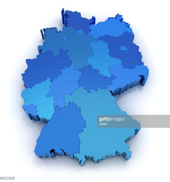 Awesome Germany Map With States Pictures - Map Informations ...