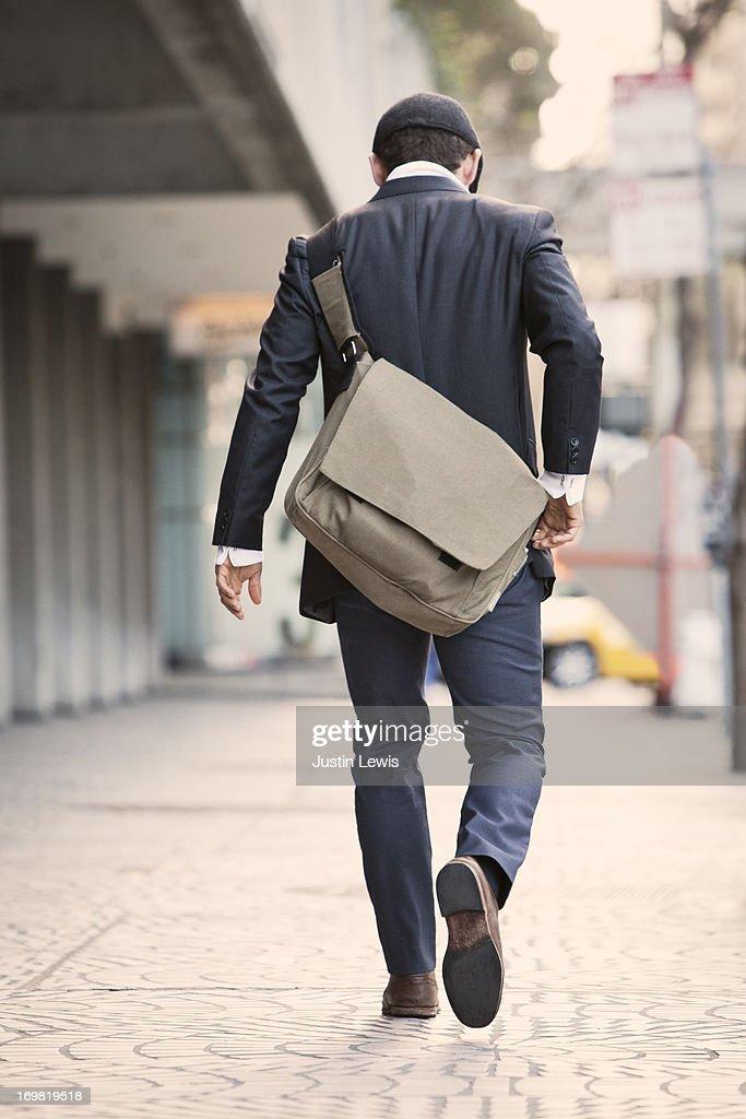 Down Walking Sidewalk