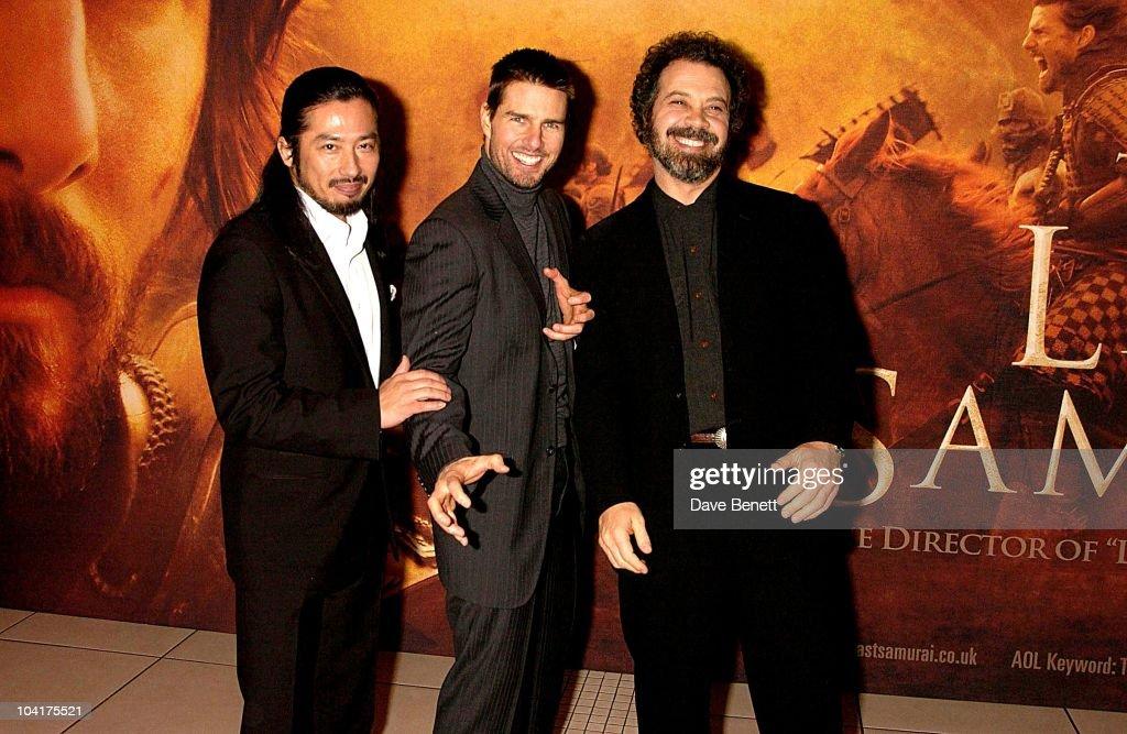 'The Last Samurai' Film Premiere Pictures   Getty Images