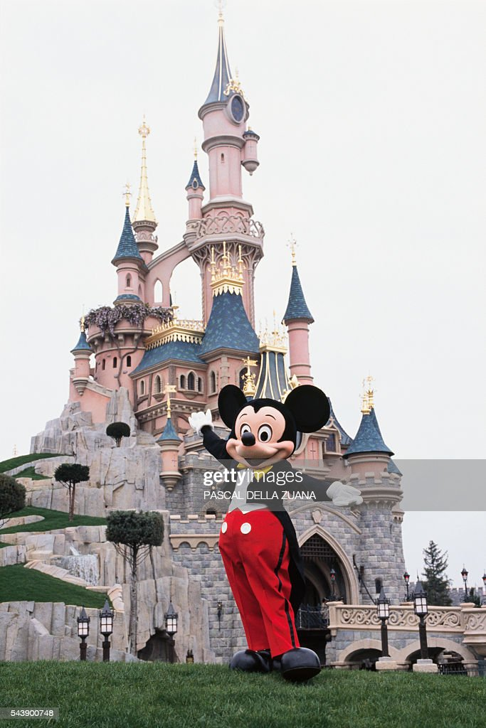 Disneyland Catstlecartoon