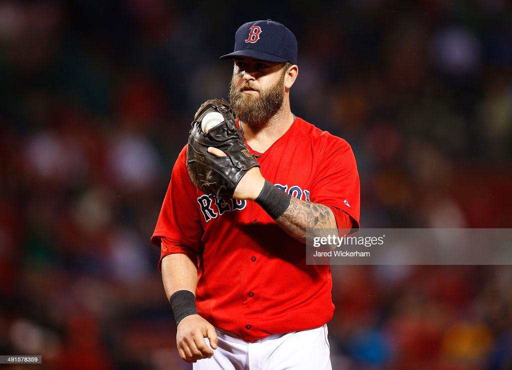 Mike Napoli Boston Red Socks Images
