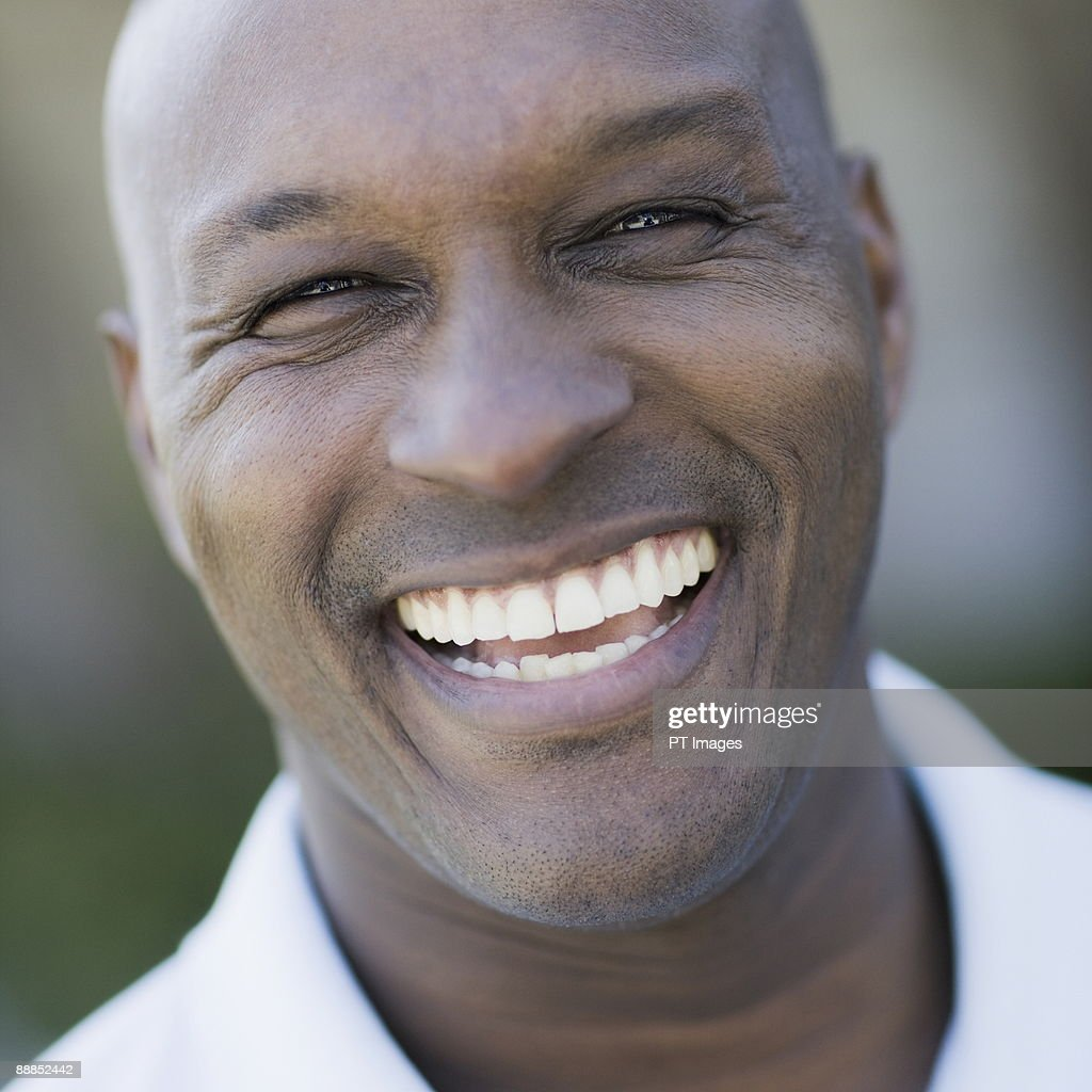 Guy Laughing Without Smiling