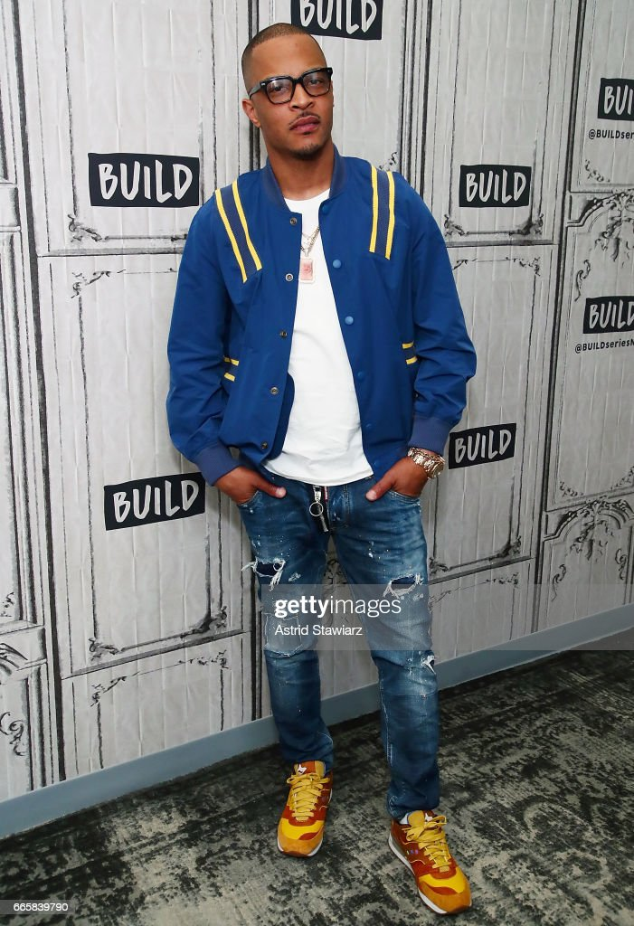 Build Series Presents T I  Discussing Rapper T I  discusses  T I    Tiny  The Family Hustle  at Build Studio on