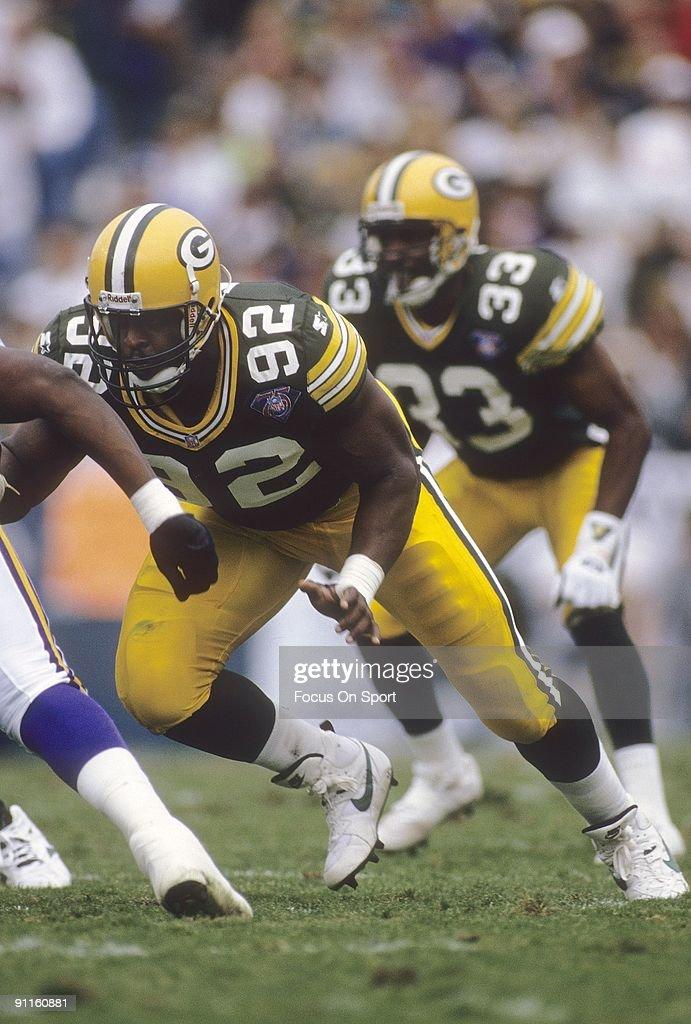 Reggie White Nfl Player 1999