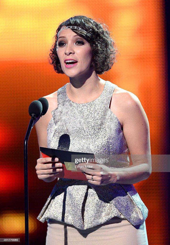Gaby Moreno Latin Grammy Awards 2013